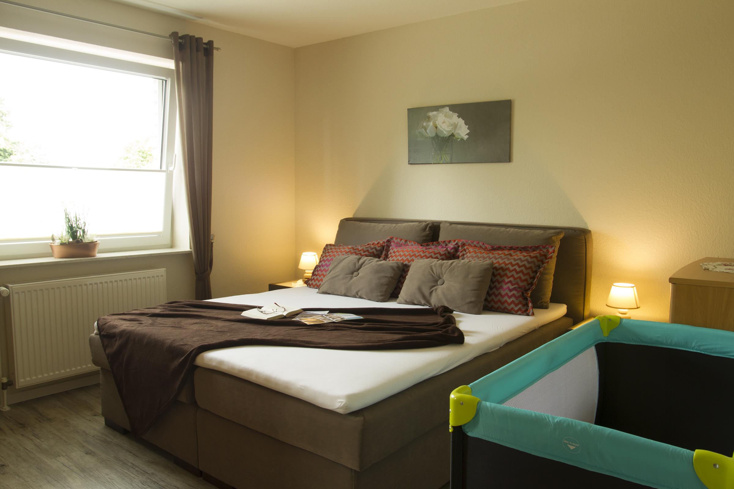 Schlafzimmer im Erdgeschoss | Haus Betty